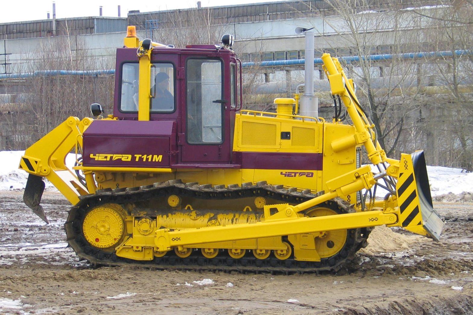 Бульдозер ЧЕТРА Т11 технические характеристики