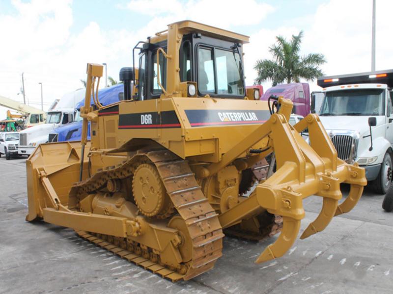 Бульдозер Cat D6R технические характеристики