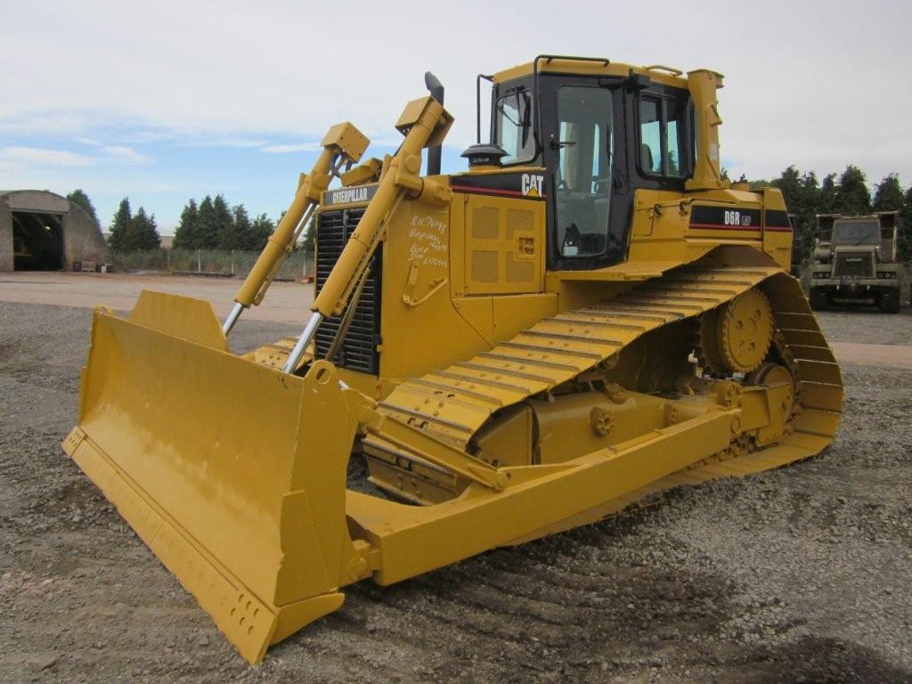 Бульдозер Caterpillar D6R LGP технические характеристики