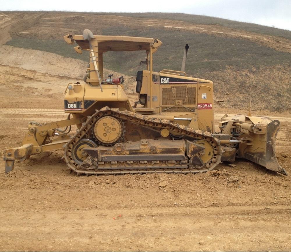Бульдозер Caterpillar D6N XL технические характеристики