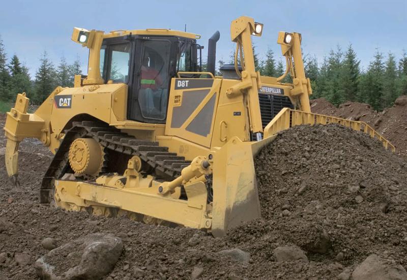 Бульдозер Cat D8T технические характеристики