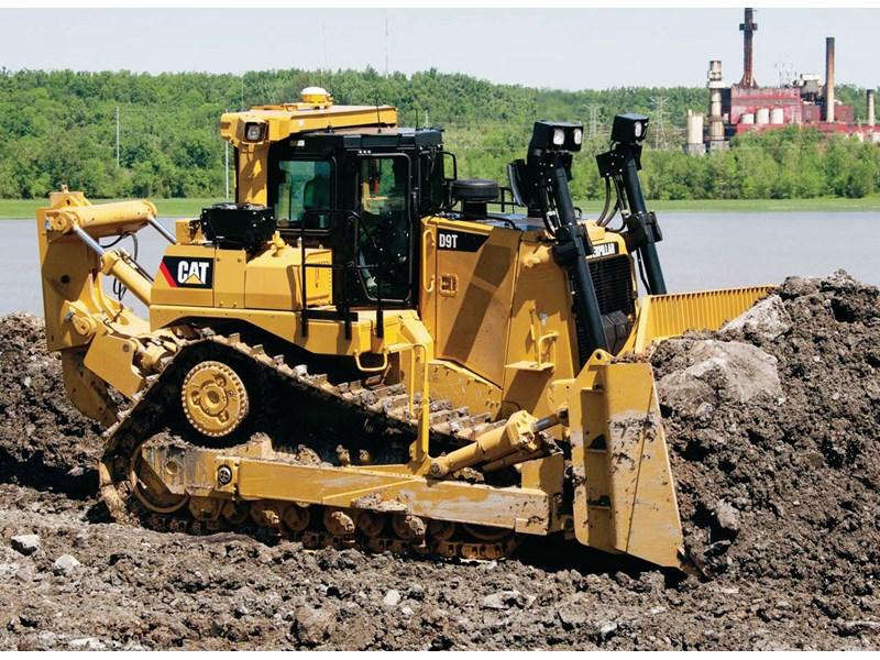 Бульдозер Caterpillar D9T технические характеристики