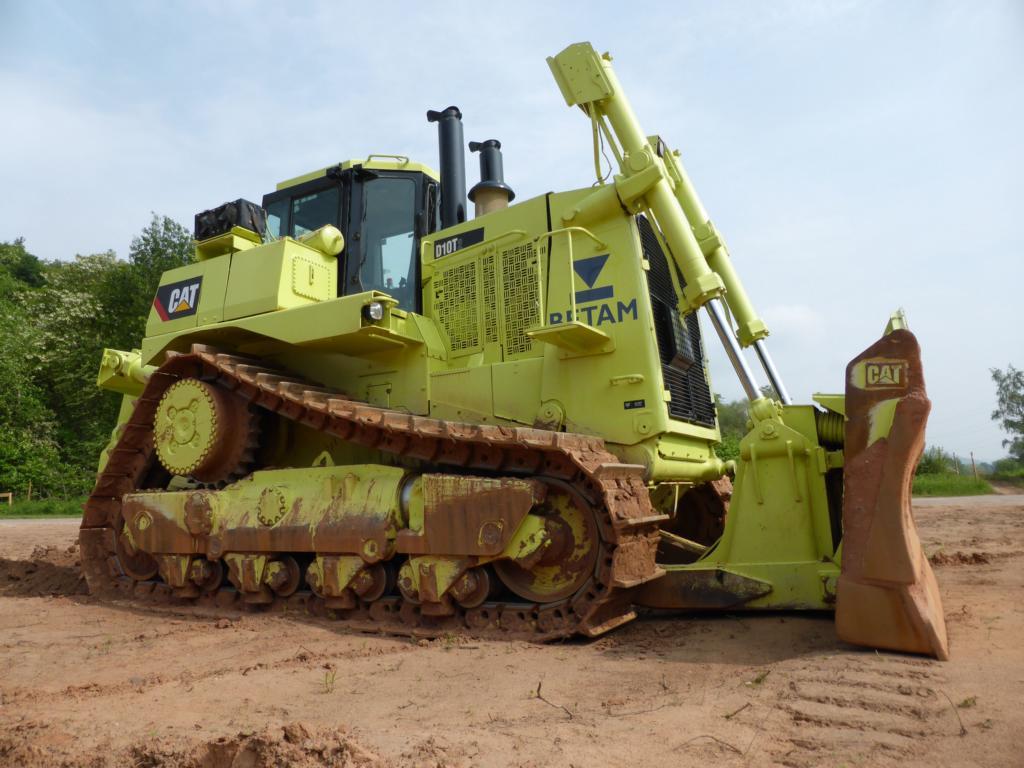 Бульдозер Caterpillar D10T2 технические характеристики