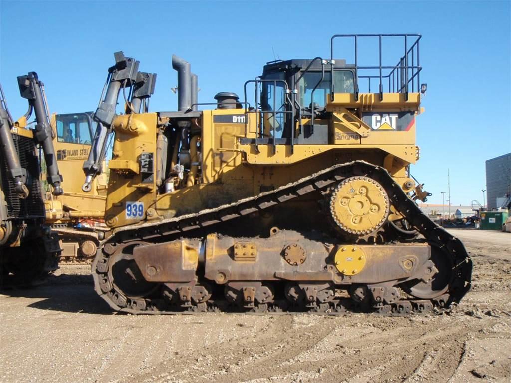 Бульдозер Caterpillar D11T технические характеристики