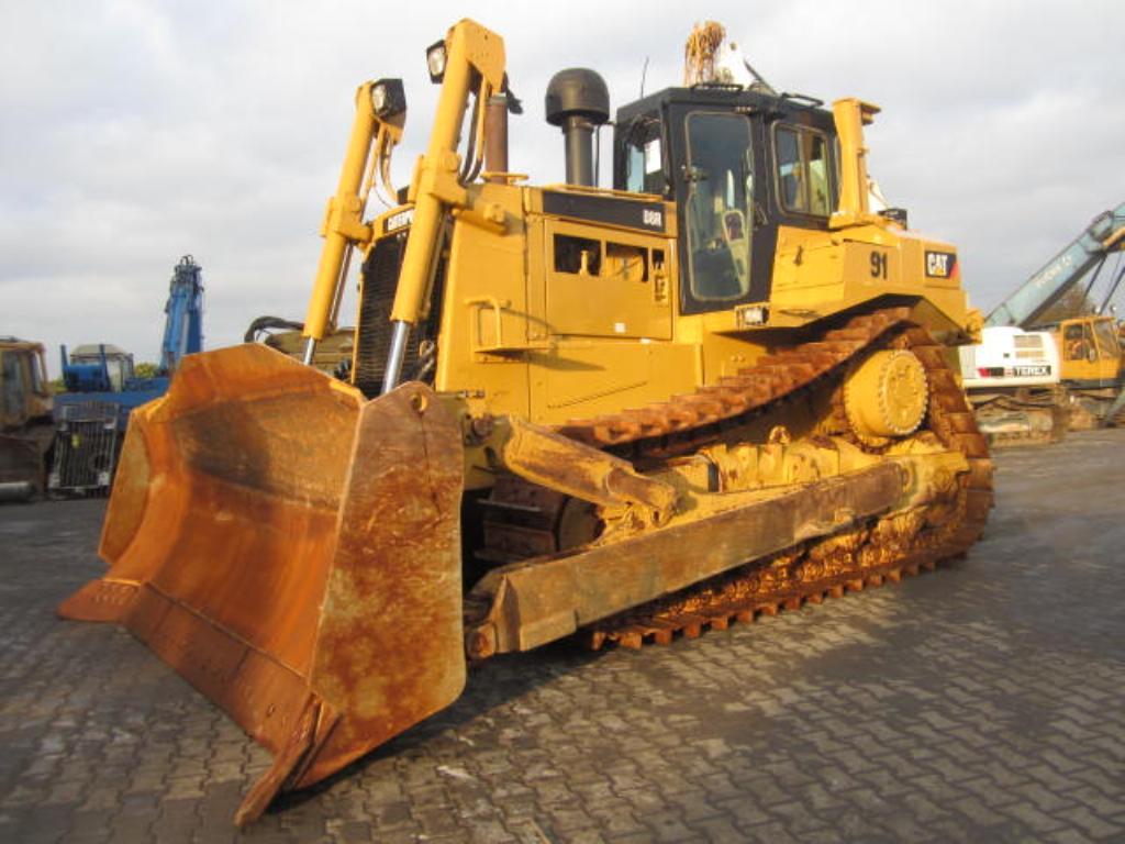 Бульдозер Cat D8R технические характеристики