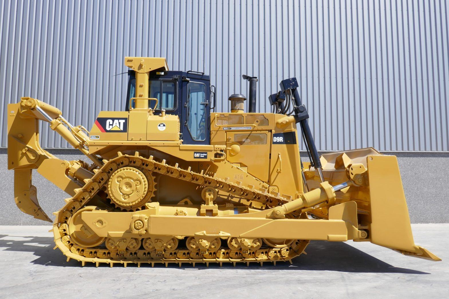 Бульдозер Caterpillar D9R технические характеристики
