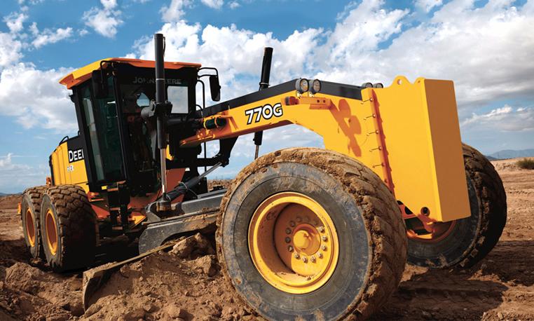 Грейдер John Deere 770G технические характеристики