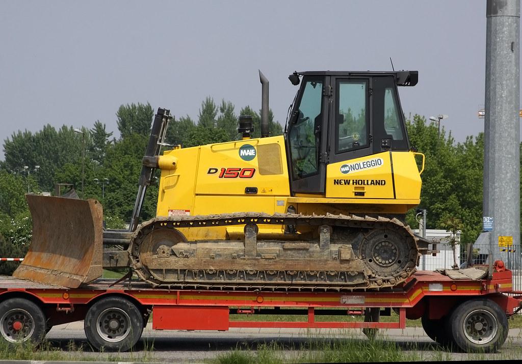 Бульдозер New Holland D150 технические характеристики
