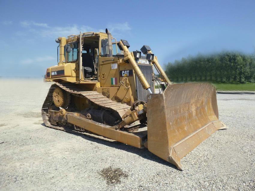 Бульдозер Caterpillar D5R2 технические характеристики