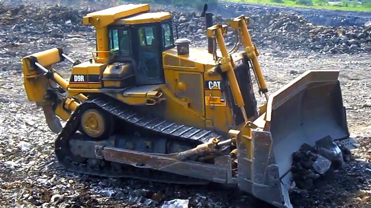 Бульдозер Cat D9R технические характеристики