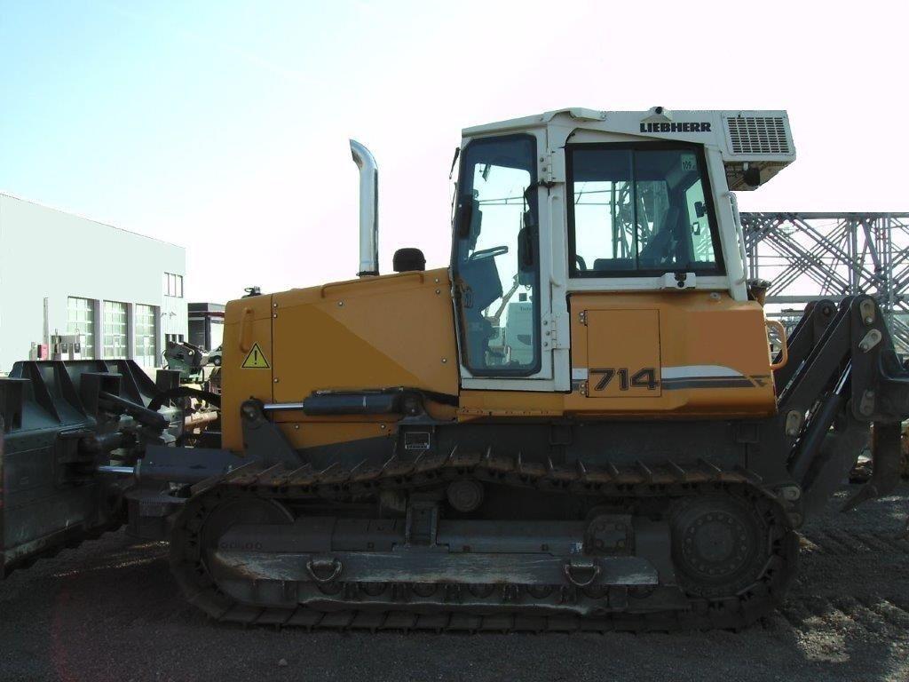Бульдозер Liebherr PR 714 L технические характеристики