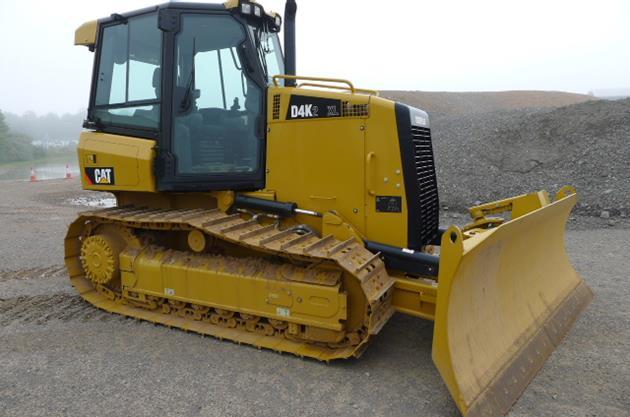 Бульдозер Cat D4K технические характеристики